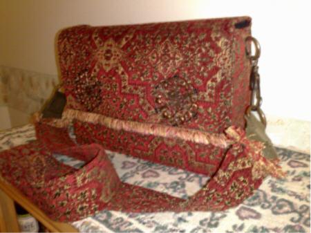 Handmade Laptop Bag - Persian Fabric