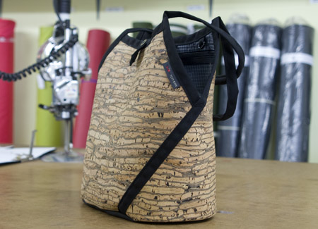 Swift Knitting Bag in Cork Material