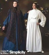 Amidala and Leia Costume Pattern