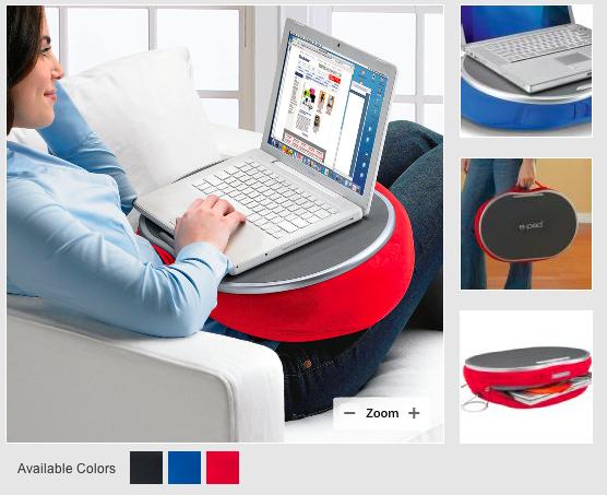 Epad-laptop-portable-desk from Brookstone.com