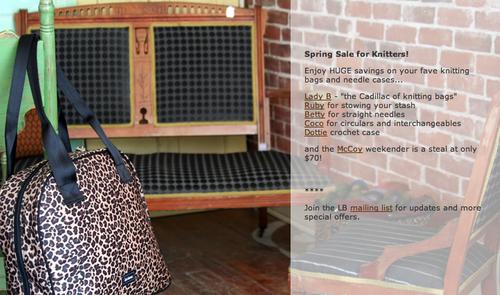 Lexie Barnes Spring Knitting Sale