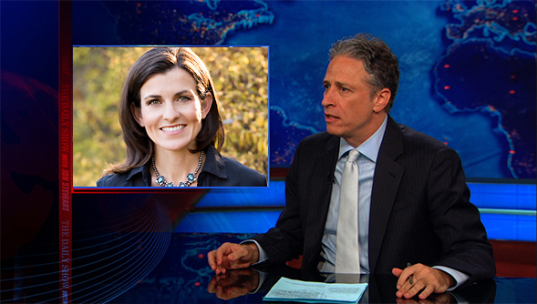 Joanna Brooks on The Daily Show