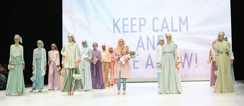 Ria Miranda's collection from Indonesia Fashion Week 2013