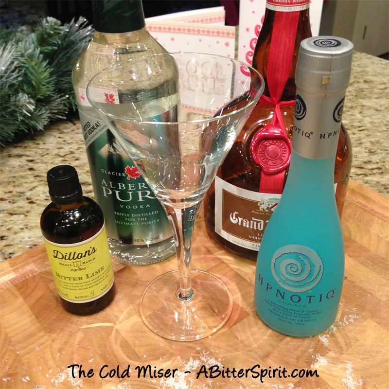 Cold-miser-cocktail-ingredients