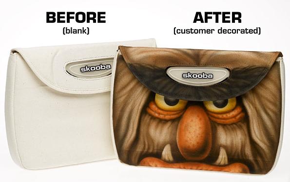 ...Вы можете добавить ваш собственный дизайн на сумку DIY для ноутбука.